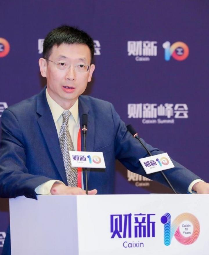 Dr. Sheng Ding Speaks at the 10th Caixin Summit