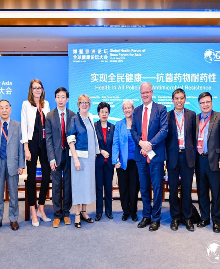 Dr. Sheng Ding Responds to the Antibiotic Resistance Challenge at the First Global Health Forum of Boao Forum for Asia