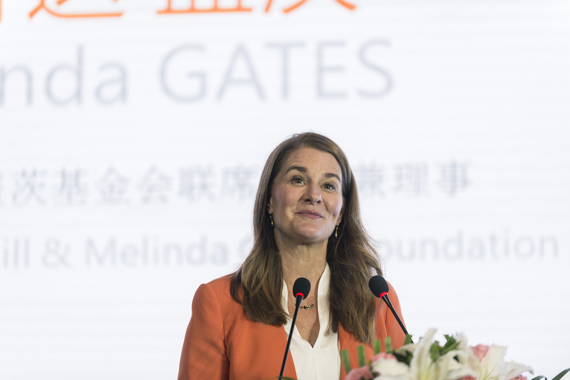 Melinda delivering remarks at panel discussion 2 - 网页版.jpg